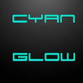 CYAN GLOW  CM 11 THEME