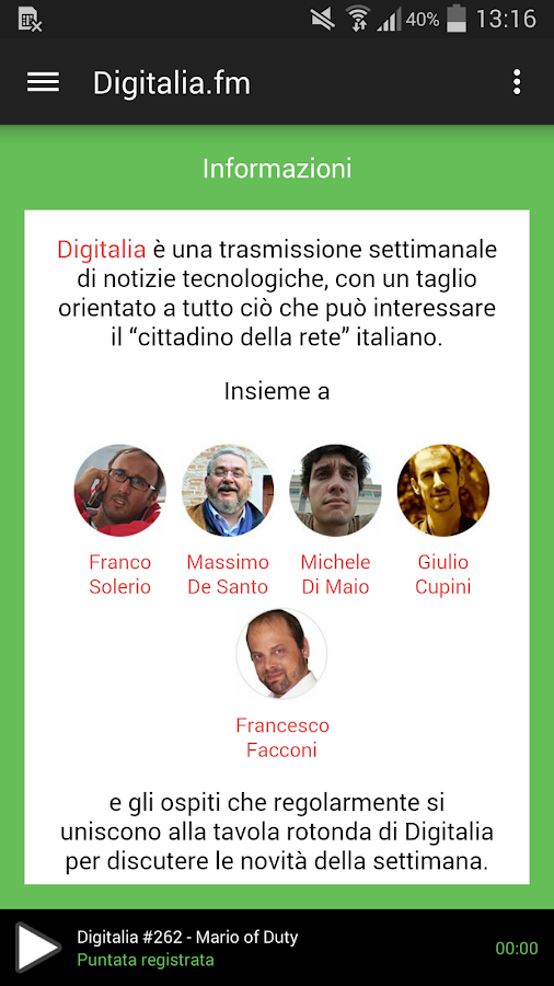 Digitalia.fm- screenshot