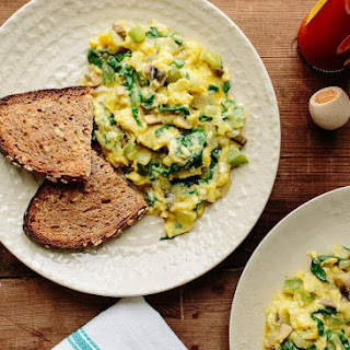 Scrambled Eggs With Vegetables Recipes.