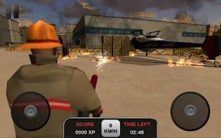 Screenshot of Firefighter Simulator 3D