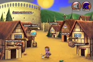 Screenshot of Swords and Sandals