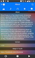 Screenshot of ShweTunes
