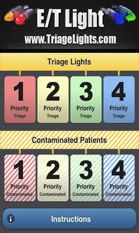 Triage Lights- screenshot
