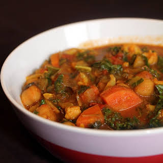 Vegetable Chickpea Curry.