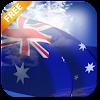3D Australia Flag LWP