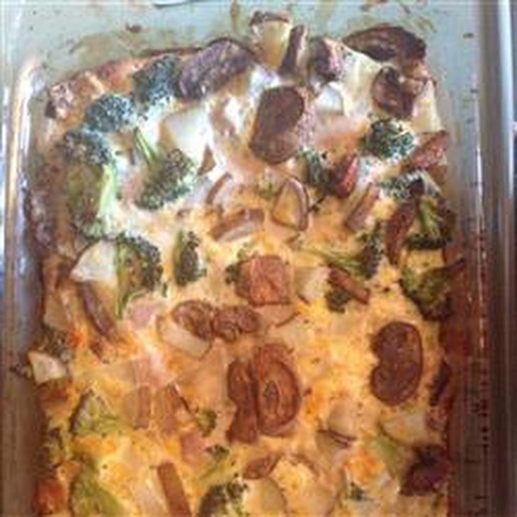 Chicken Frittata Recipe
