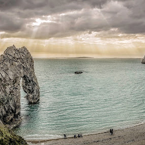 Durdle Door by Jose Rabina - Landscapes Beaches ( sea, beach, landscape )