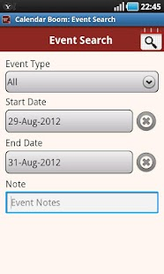 Calendar Boom-Events Reminders - screenshot thumbnail