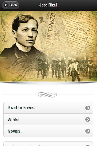 Jose rizal android apps on google play jose rizal screenshot toneelgroepblik Images