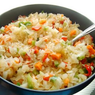 Sweet Sauerkraut Salad Recipes.