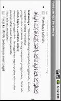 Screenshot of Panduan Haji Bergambar