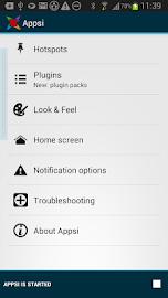 Appsi sidebar Screenshot 6
