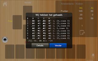 Screenshot of Klaverjas HDXP