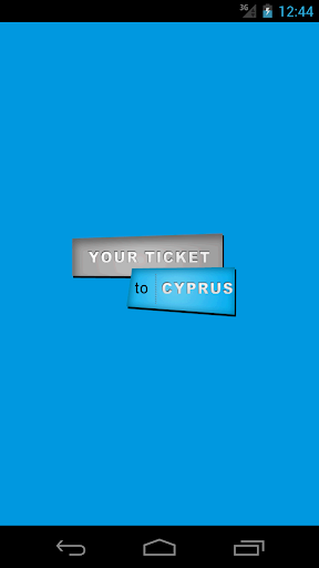Your Ticket to Cyprus