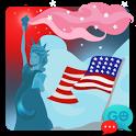 GO SMS Pro American Theme Free icon