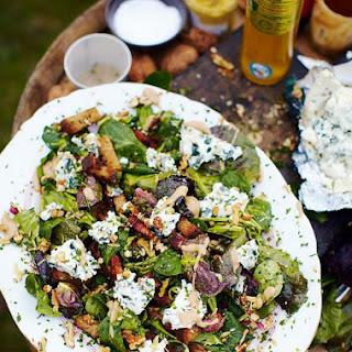 Roquefort Salad With Warm Croutons & Lardons