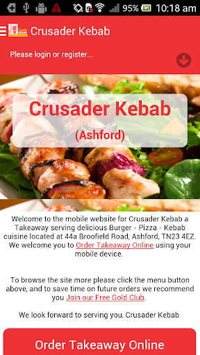 Crusader Kebab Takeaway