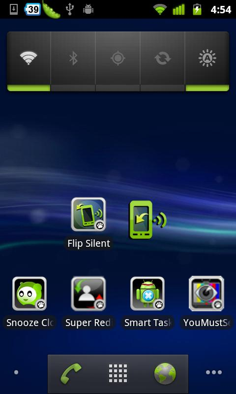 Flip Silent - screenshot