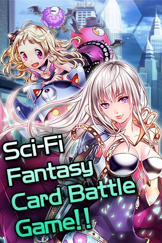 Electro Girl (Card Battle) - screenshot