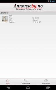 Annonseby- screenshot thumbnail