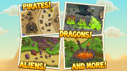 Kingdom Rush Frontiers Hry pre Android screenshot