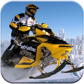 Snow Rally moto racing GP