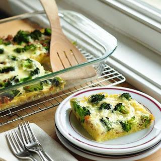 Broccoli & Spaghetti Frittata