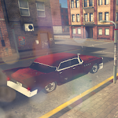 1950 Retro Cars Parking 3D