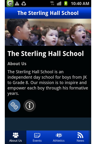 The Sterling Hall School- screenshot