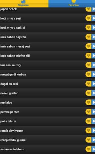 Türkçe komik zil sesleri