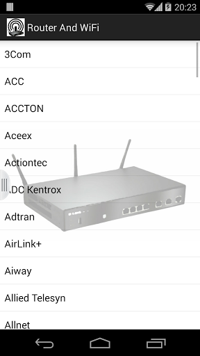 router android
