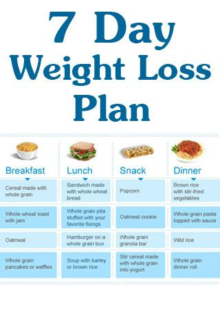 Day Weight Loss Plan - screenshot