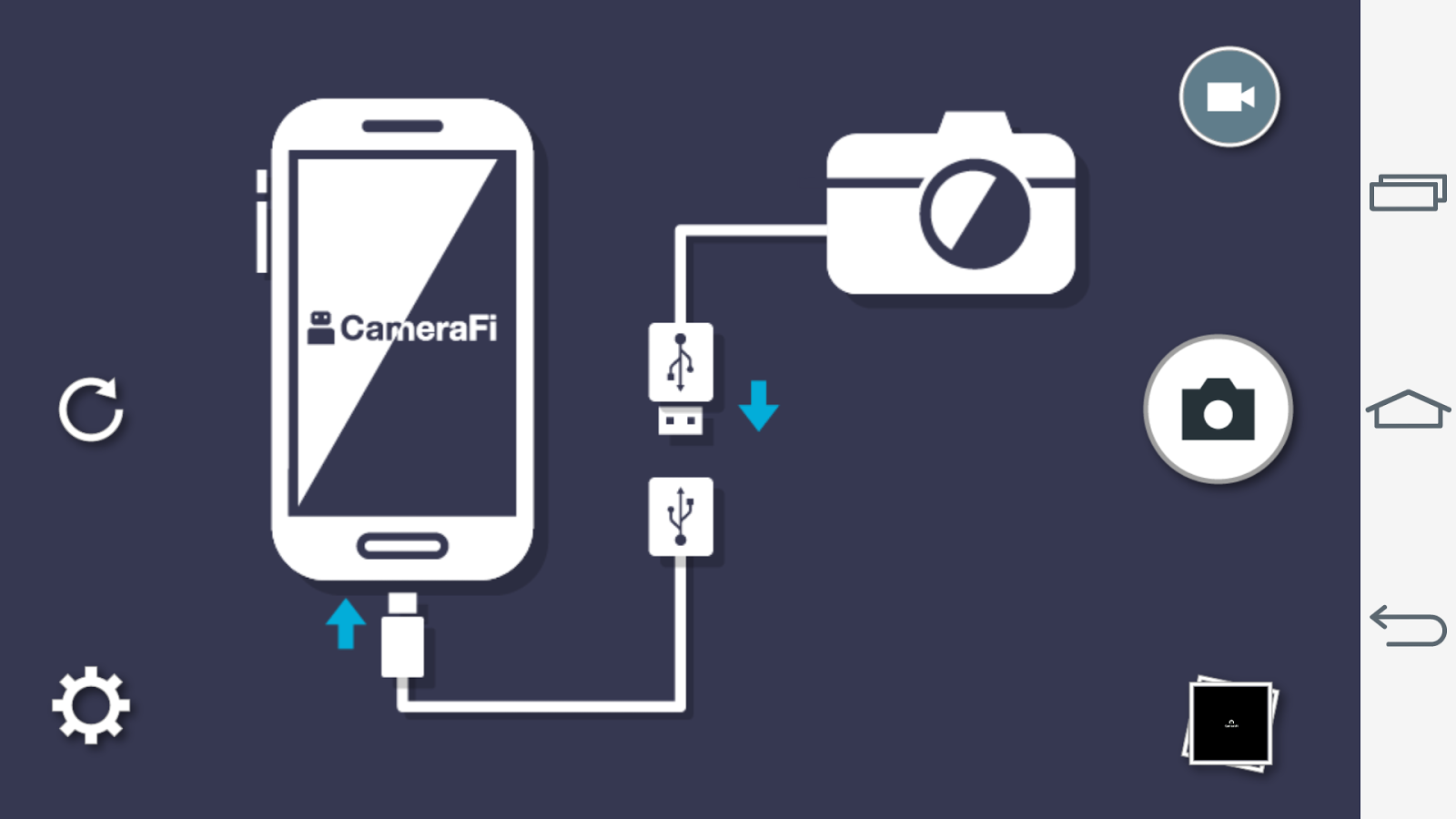 CameraFi - USB Camera / Webcam – zrzut ekranu