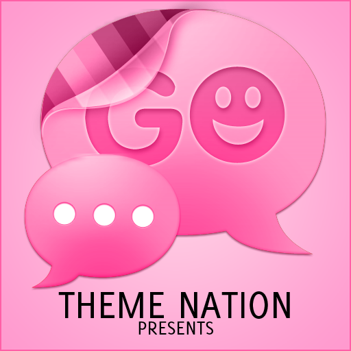 GO短信加強版的主題 - 臨粉紅 通訊 App LOGO-APP試玩