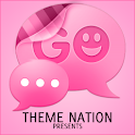 GO SMS Pro Tema - Pro Pink icon