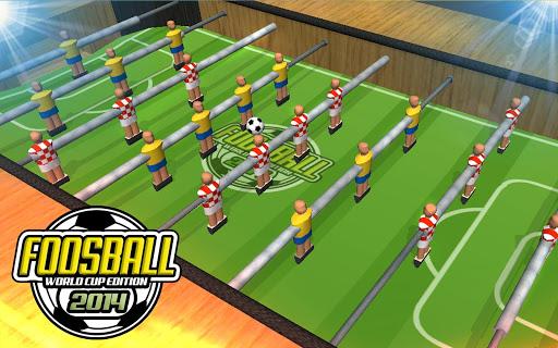 Foosball 2014 WorldCup Edition