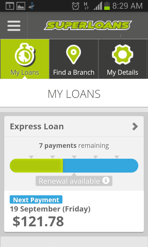 My Superloans- screenshot