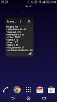Screenshot of N.memo for SmallApp
