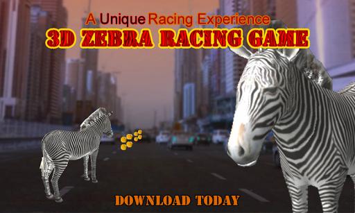 Wildlife Zebra Run