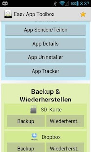 Easy App Toolbox (Backup) - screenshot thumbnail