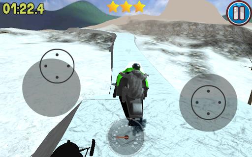 Snow Moto Race
