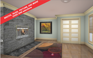 Screenshot of 3D Interior Room Design