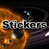 MC Soft Solar System Stickers