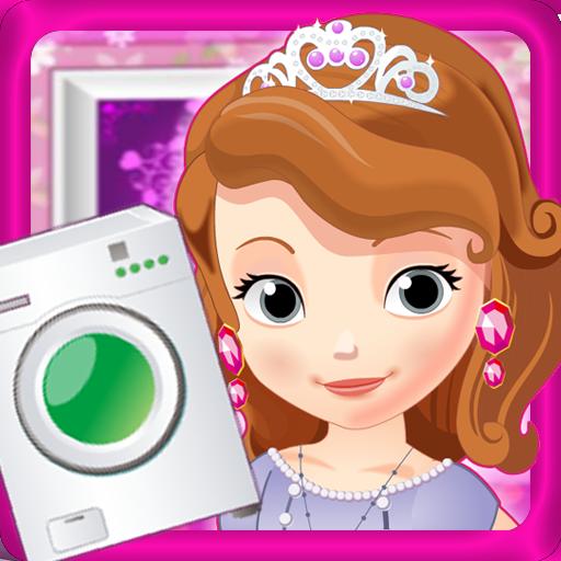 小公主洗衣服 休閒 App LOGO-硬是要APP