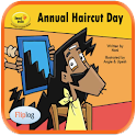 Annual Haircut Day logo
