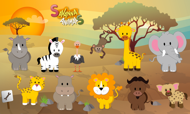 Savanna Animals- screenshot