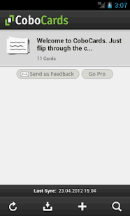 CoboCards flashcards- screenshot thumbnail