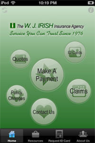 【免費商業App】WJ Irish Insurance-APP點子