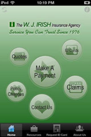 【免費商業App】WJ Irish Insurance-APP點子