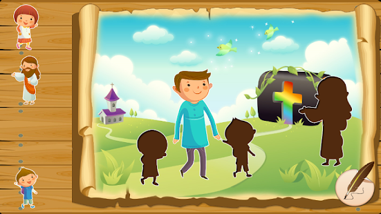Bible puzzles for toddlers- screenshot thumbnail